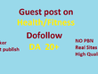 Guest Post On 15 Health/Fitness Sites With Do Follow