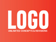 Logo design + Unlimited concept & revisions + Source files