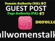 Guest Post On Allwomenstalk, Allwomenstalk.com DA 62