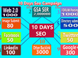 Run 10 Days Local Seo Backlink Campaign facebook linkedin google