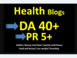 Guest Post On DA40 Health Blog