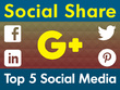 Share Your Website Link or URL in Top 5 Social Media