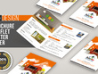 Design brochure, flyer, leaflet or poster