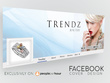 Design facebook cover page and banners ads
