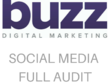 Give a full audit of your current social media marketing