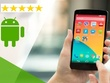 Give 10 android app reviews with 5 star rating to your App