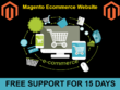 Design and develop Fully Magento Ecommerce Website