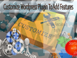 Customize Wordpress Plugin To Add Features, PHP Bug Fix