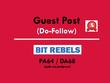 Publish a guest post on Bit Rebels - BitRebels.com - DA64, PA68