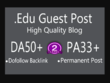 I Will Publish Real Guest Post In Edu Blog