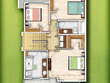 Illustrate 2D coloured property plan from your sketch/dwg/pdf