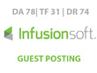 Publish a guest post on InfusionSoft Blog - DA78, TF31, DR74