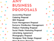 Design A Professional Business Proposal For Your Customers
