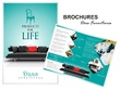 Design your 4 Page Bi fold Brohcure