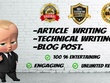 Write 50 Unique and Engaging content each are of 900+ words