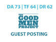 Publish a guest post on Good Men Project - DA73, TF64, DR62
