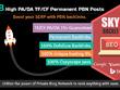 Create 8 High PA/DA TF/CF Homepage PBN Backlinks SERP