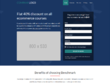 PSD to Bootstrap 4 Responsive Parallax Scroll-Spy one page site
