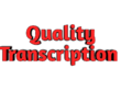 Transcribe 1hour of audio or video (English)
