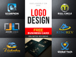 Design bespoke logo with free business card for your brand