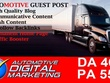 Publish your article on automotive marketing Site (PA 46, DA 55)