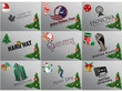 Design bespoke logo design+Christmas&Newyear offer design 1 card