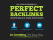 PERFECT BACKLINKS 30 Days AUTHORITY Link Building Service