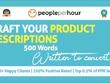 Write 5 product descriptions that convert