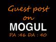 Publish Guest Post on OnMogul.com (DA 40 Blog)