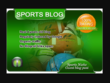 I will write and guest post on sports blog