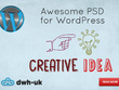 Design an Awesome PSD Homepage for WordPress