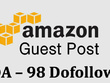 Do guest post on Amazon.com (DA98) dofollow backlinks