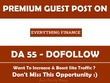 Publish Guest post on EveryThingFinanceBlog.com - DA 55