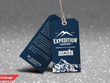 Design a hang tag for your clothing range