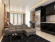 3d  house interior 3D render