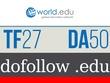 Publish a guest post on world.edu, a DA55 PA60 PR9 .edu blog
