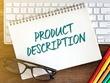 Write 10 x Product Descriptions