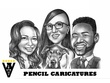 Draw Your Pencil Caricature, Cartoon, Sketch from Photo