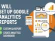 Setup a custom automated Google Analytics dashboard report