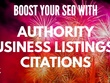 Boost your seo with 50 Quality SEO Directory Citations