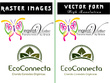 Convert your images and logo into Vector form and Silhouette