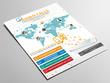 Design flyer, poster, leaflet, brochure, company profile