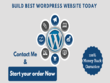 Design and develop wordpress website