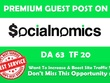 Write & Publish Guest Post on Socialnomics.net - DA 63