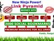 Rank top on Gooogle by High Quality NINJA Pyramid #1 SEO method