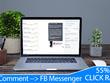 Auto-respond to 1 No. FB Posts COMMENTS via MESSENGER