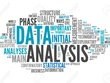 Deliver all data analysis / cleansing