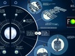 Design communicative flow chart or pie chart infographs