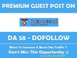 Guest post on Foxnomad – Foxnomad.com – Do Follow