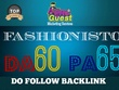 Publish Guest post on TheFashionisto.com DA60-PA65